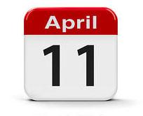 April 11 Icon
