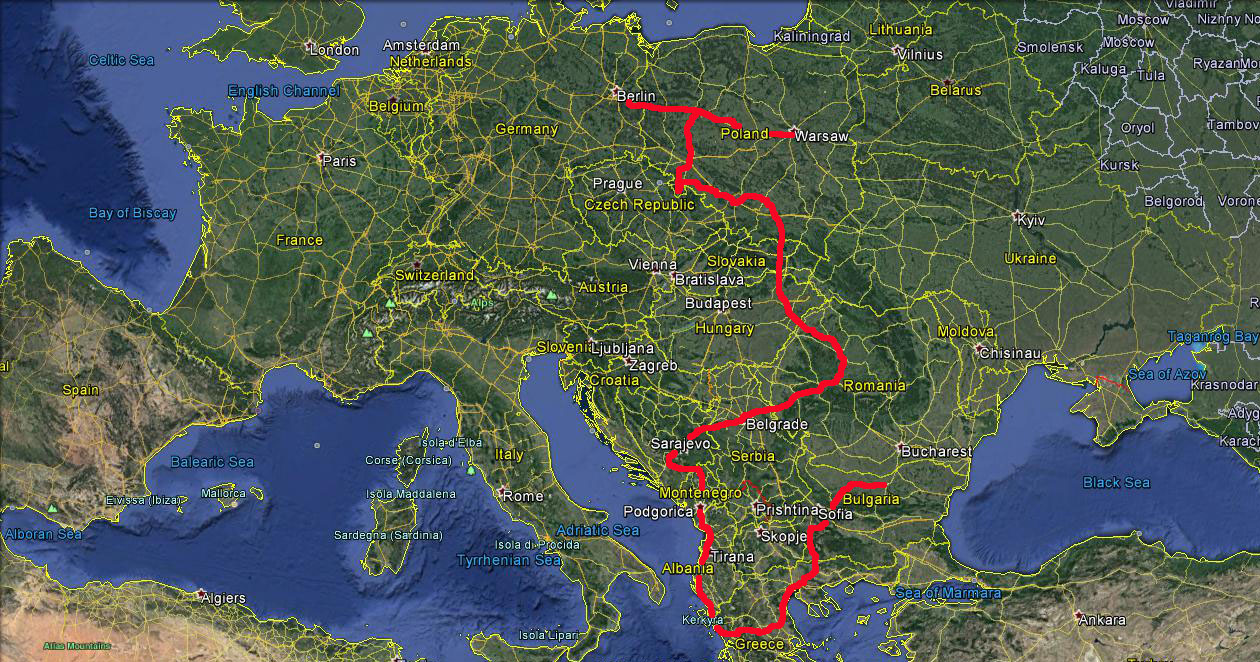 Bulgaria to Berlin